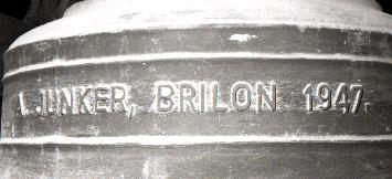 Detailansicht der Marienglocke - Glocke 2