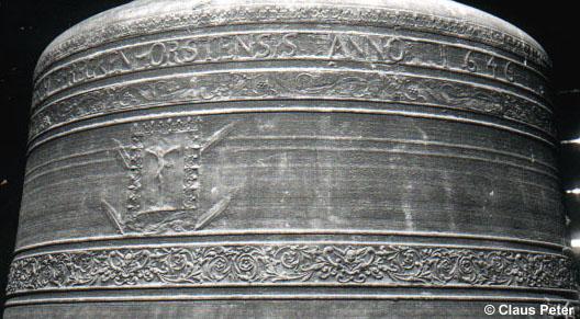 Detailsansicht der Bonifatius Glocke - Glocke II